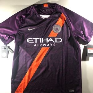 NIKE JERSEY MANCHESTER CITY NWT